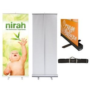 Personalized Silverwing Double Sided 33.5 x 80 Hybrid Graphic Package Stand /& Graphic